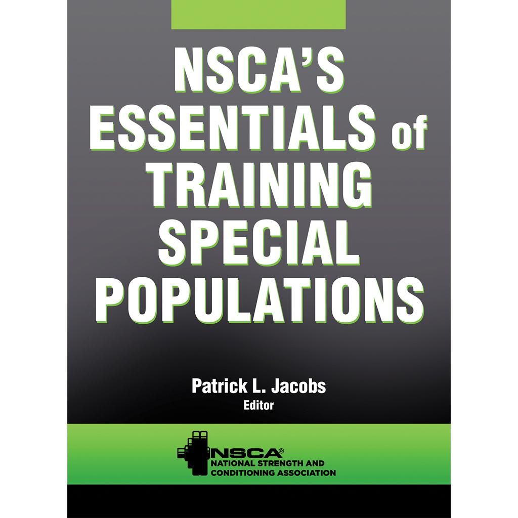 Essentials Of Training Special Populations