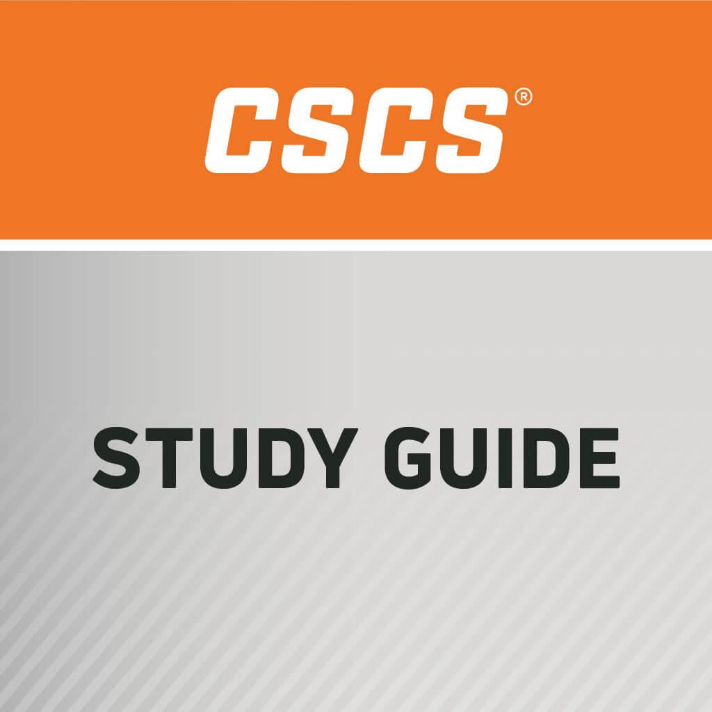 CSCS Exam Content Description E-Book